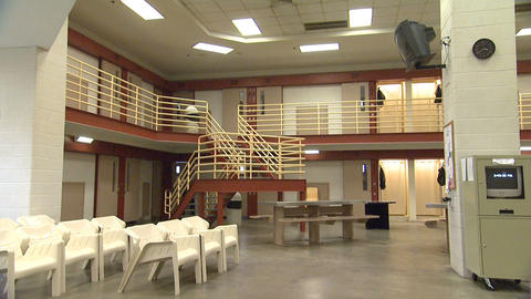 Jail 2 stock footage