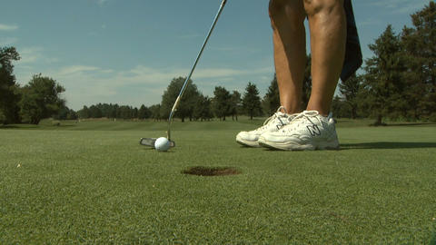 Golf 12 stock footage