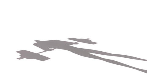 Shadow of a Weightlifter: Looping Animation