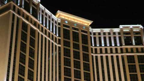 LAS VEGAS - CIRCA 2014: Hotel Palazzo In Strip On  stock footage
