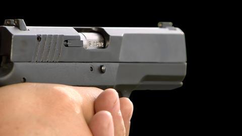 Shot gun Stock Video Footage