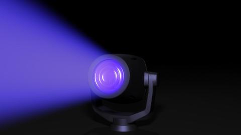 Spotlight Stock Video Footage