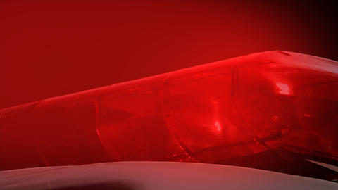 Red police light Stock Video Footage
