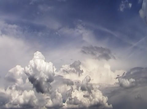 Sky and clouds Footage