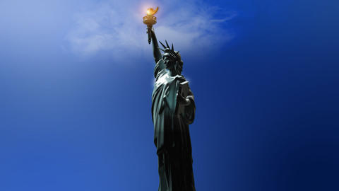 Statue of Liberty CG動画素材