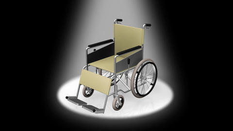 Wheelchair Fix D Stock Video Footage