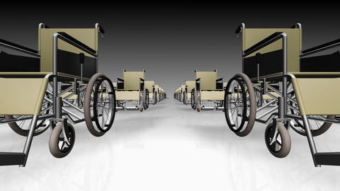 Wheelchair Line2 D Animation