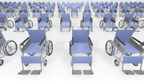 Wheelchair Much1 B Stock Video Footage