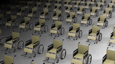 Wheelchair Much2 D Animation
