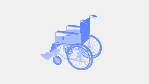 Wheelchair Rotate I Animation