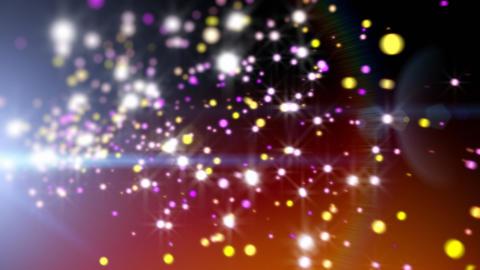 Festive sparks Stock Video Footage