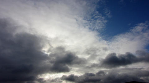 Clouds Timelapse 1 Stock Video Footage