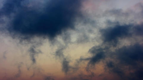 Clouds Timelapse 13 Stock Video Footage