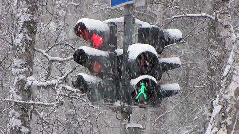 Snowfall 14 1 Stock Video Footage