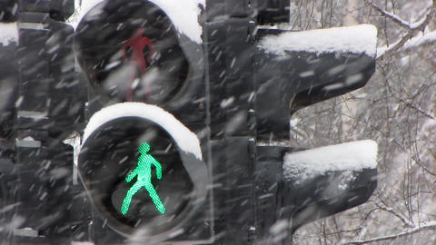 Snowfall 21 Stock Video Footage