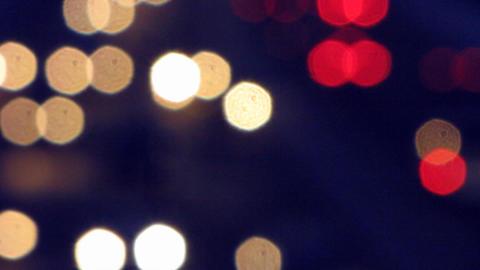 Car lights 2 Stock Video Footage