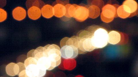 Car lights 5 Stock Video Footage