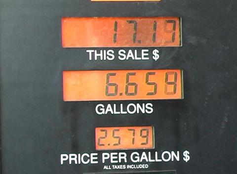 Gasoline Pump (2) Stock Video Footage