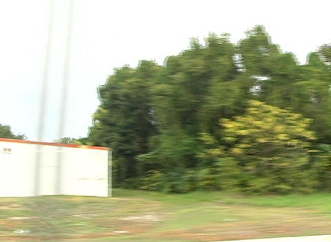 Side View Traveling Vehicle Shot (2) Footage