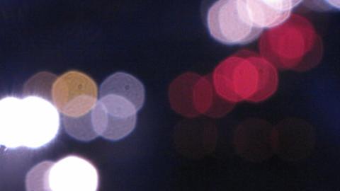 Car lights 7 Stock Video Footage
