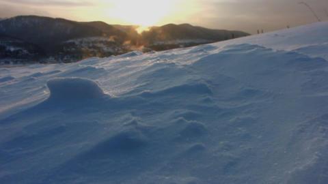 Snow storm 4 Stock Video Footage