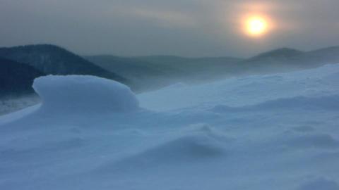 Snow storm 8 Stock Video Footage