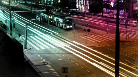 City Lights Footage