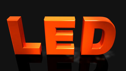 led Stock Video Footage