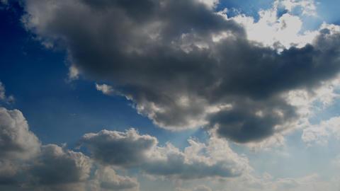 Clouds over blue sky Videos de Stock