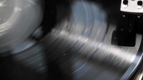 vinyl record album Stock Video Footage