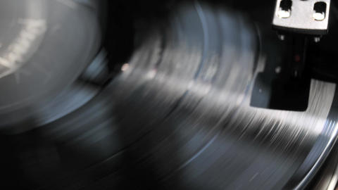 vinyl record album Stock Video Footage