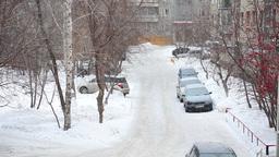 Winter scene Footage