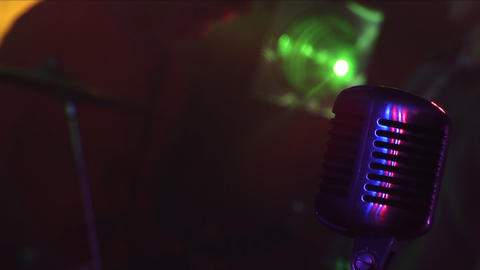 Microphone 2 Stock Video Footage