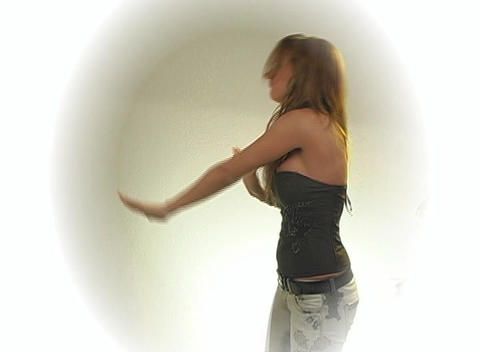 Beautiful, Sexy Blonde Dancing (2) Stock Video Footage