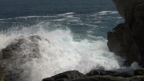 coast 128 Stock Video Footage