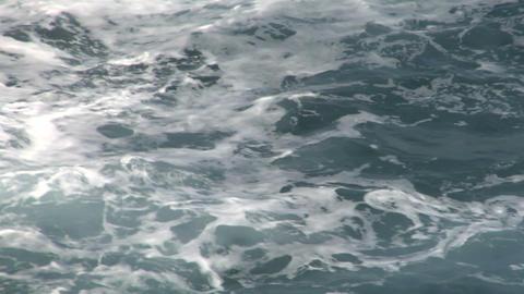 sea wave foam 103 Stock Video Footage