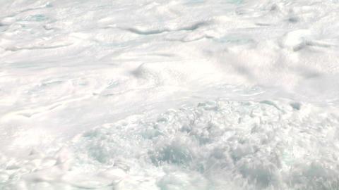 sea wave foam 107 Stock Video Footage