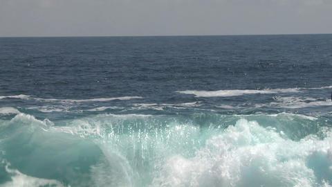 sea wave foam 109 Stock Video Footage