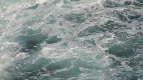sea wave foam 204 Stock Video Footage