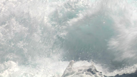sea wave foam 211 Stock Video Footage
