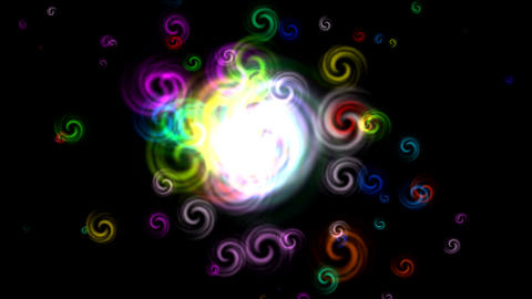 color explosion Animation