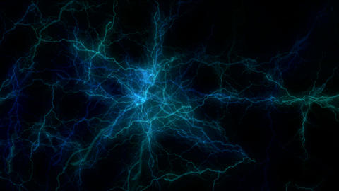 electric blue zoom Stock Video Footage