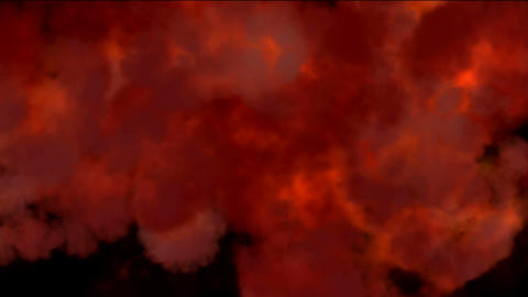 fire and smoke Stock Video Footage