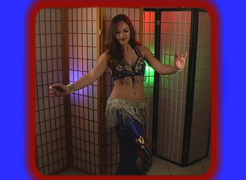 Beautiful Exotic Belly Dancer (5) Footage