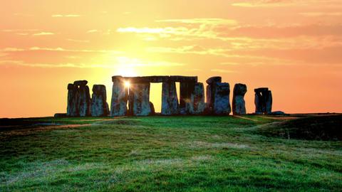 Stonehenge timelapse Footage