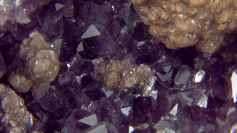 amethyst close up 02 Footage
