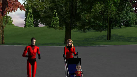 Super Parents: Peer Pressure, Version #2 Animation