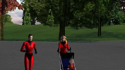 Super Parents: Peer Pressure, Version #2 Animation