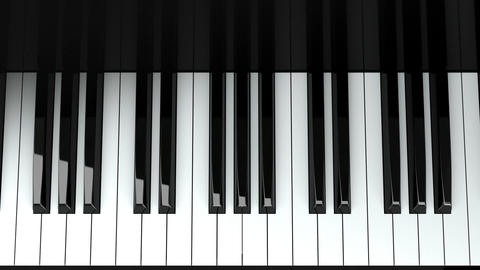 Loopable Piano Keyboard Animation