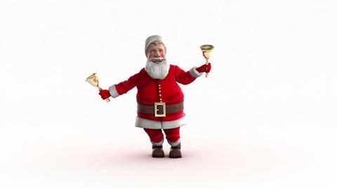 Funny Santa Dancing Stock Video Footage